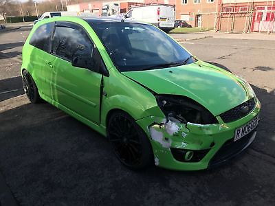 Ford Fiesta Zetec S Tdci St Rs Project No Reserve Auction Accident